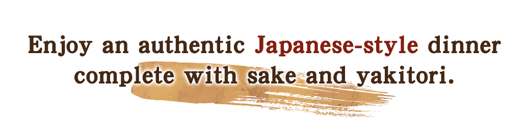 Enjoy an authetic Japanese-style